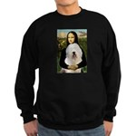 Mona's Old English Sheepdog Sweatshirt (dark)