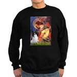 Mandolin Angel & Papillon Sweatshirt (dark)