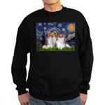 Starry Night & Papillon Sweatshirt (dark)