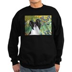 Irises & Papillon Sweatshirt (dark)