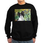 Irises & Papillon Sweatshirt (dark)