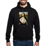Mona /Pekingese (w) Hoodie (dark)