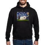 Starry / Pekingese(w) Hoodie (dark)