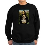 Mona Lisa / PBGV Sweatshirt (dark)