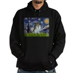 Starry Night /Pomeranian (p) Hoodie (dark)
