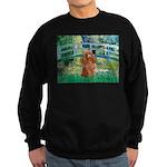 Lily Pond Bridge/Poodle (apri Sweatshirt (dark)