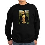 Mona / Poodle (a) Sweatshirt (dark)