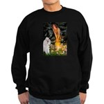 Fairies / Std Poodle(w) Sweatshirt (dark)