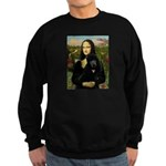 Mona / Std Poodle (bl) Sweatshirt (dark)