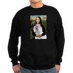 Mona / Std Poodle(w) Sweatshirt (dark)