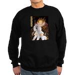 Queen / Std Poodle(w) Sweatshirt (dark)