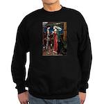 Tristan / Std Poodle(blk) Sweatshirt (dark)