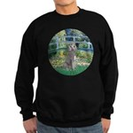 Bridge/Std Poodle silver) Sweatshirt (dark)