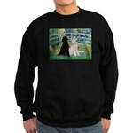 Bridge / Std Poodle (pr) Sweatshirt (dark)