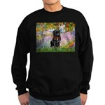 Garden / Black Pug Sweatshirt (dark)