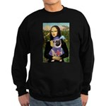 Mona & Sir Pug Sweatshirt (dark)