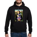 Mona & Sir Pug Hoodie (dark)