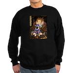 The Queen & Sir Pug Sweatshirt (dark)