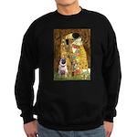 The Kiss / Pug Sweatshirt (dark)