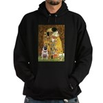 The Kiss / Pug Hoodie (dark)