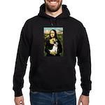 Mona / Rat Terrier Hoodie (dark)