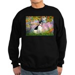 Garden / Rat Terrier Sweatshirt (dark)