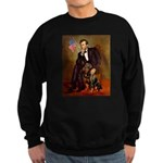 Lincoln's Rottweiler Sweatshirt (dark)