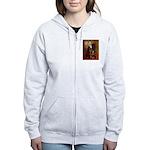 Lincoln's Rottweiler Women's Zip Hoodie