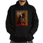 Lincoln's Rottweiler Hoodie (dark)
