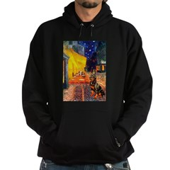 Cafe & Rottweiler Hoodie (dark)