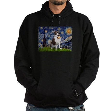 Starry / Saint Bernard Hoodie (dark)