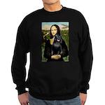 Mona's Schipperke (#5) Sweatshirt (dark)