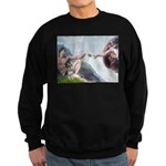 Creation / Schnauzer (#8) Sweatshirt (dark)