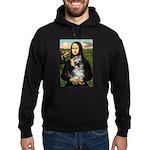 Mona Lisa's Schnauzer (#1) Hoodie (dark)