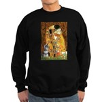 Kiss / Schnauzer (#7) Sweatshirt (dark)