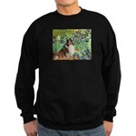 Irises / Sheltie Sweatshirt (dark)