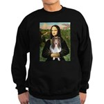 Mona Lisa's Sheltie (S) Sweatshirt (dark)