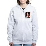 Accolade / 3 Shelties Women's Zip Hoodie