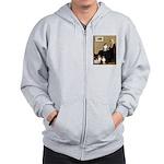 Whistler's / 3 Shelties Zip Hoodie