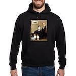 Whistler's / 3 Shelties Hoodie (dark)
