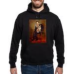 Lincoln's Corgi Hoodie (dark)