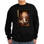 The Queen's Corgi Sweatshirt (dark)