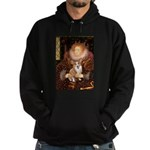 The Queen's Corgi Hoodie (dark)