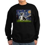 Starry Night / Welsh Corgi Sweatshirt (dark)