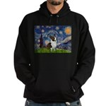Starry Night / Welsh Corgi Hoodie (dark)
