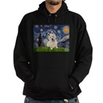 Starry Night/Westie Hoodie (dark)