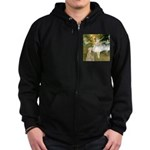 Dancer1/Wheaten T Zip Hoodie (dark)