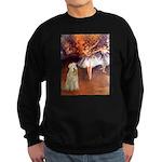 Dancer1/Wheaten T (7) Sweatshirt (dark)