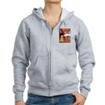 Dancer1/Wheaten T (7) Women's Zip Hoodie