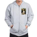 Mona's Wheaten Zip Hoodie